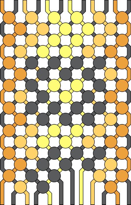 der effekt ist beinahe der gleiche wie beim wendeknoten stil nur dass du mit dieser technik weniger wendeknoten knpfen - Knupfen Muster